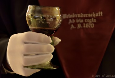 Gründungsstunde der Weinbruderschaft