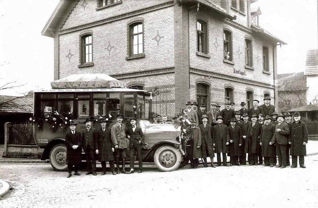 Kaiserliches Postamt Steinau 3