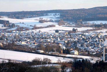 Unser Steinauer Weinberg im Winter